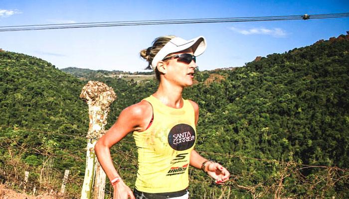 """Dani Santarosa, maratonista: """"A vida é muito melhor quando a gente está em movimento"""""""